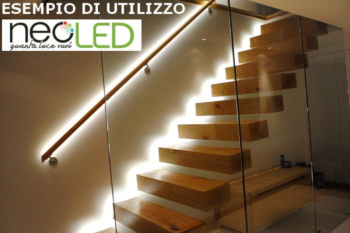 Striscia LED Strip 5630 luce naturale 4500k 5m 300LED Chip EPISTAR ...